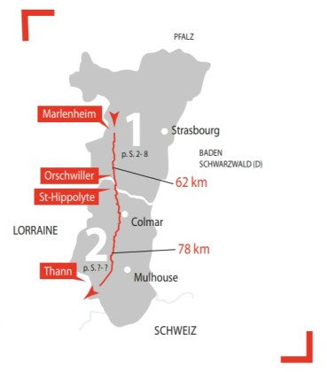 Best cycle route in France - the route