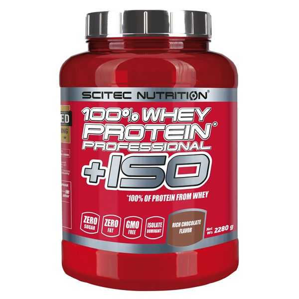 scitec nutrition 100 whey protein professional iso 2280g