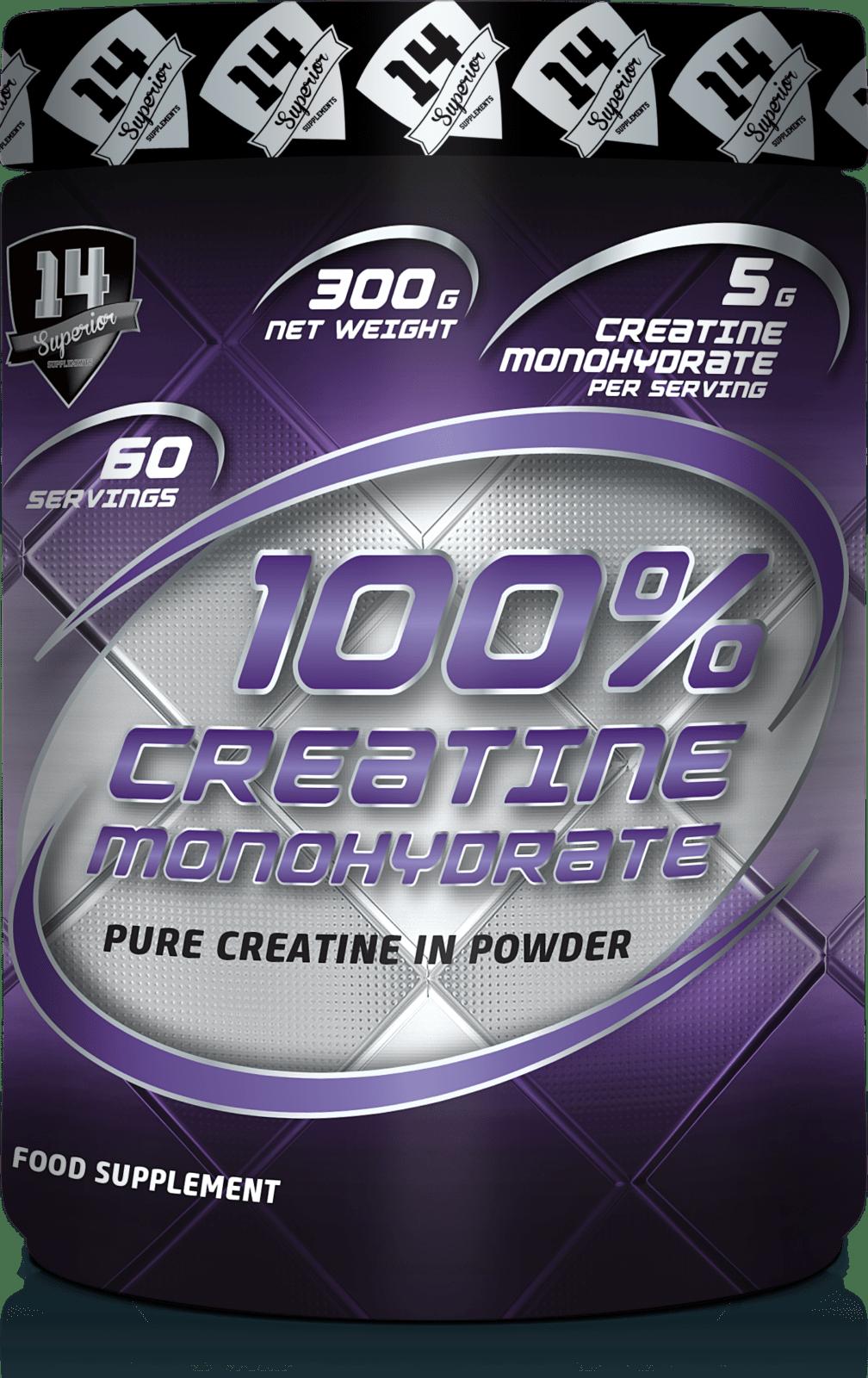 CREATINE MONOHYDRATE 100%….300g