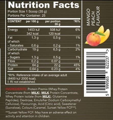 chalemger proteinmango 2