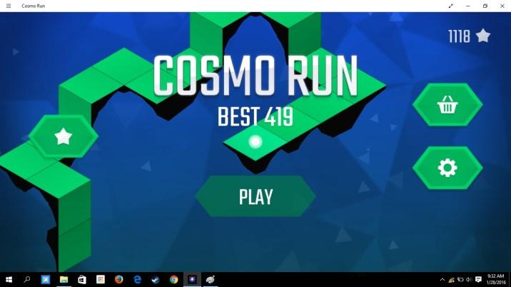 cosmo run 3