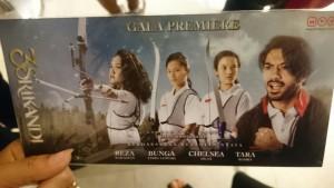 Undangan Gala Premiere 3 Srikandi