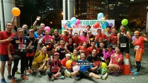 Birthday Run Ibu Yuli di FX beberapa jam sebelum berangkat ke Bali
