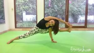 Ngabuburit sambil latihan yoga