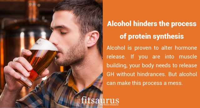 How Alcohol Affects Your Bodybuilding Goals