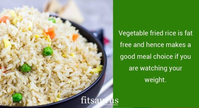 How Many Calories Are There in Fried Rice & Does It Have Any Health Benefits?