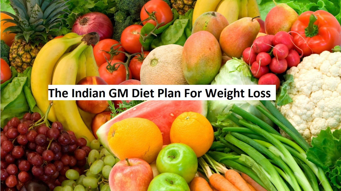 The Indian Gm Diet Plan For Weight Loss Fitsaurus