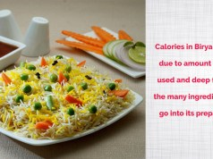 How many calories are there in Biryani & does it have any health benefits fitsaurus
