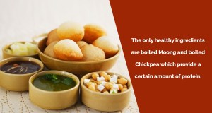 How many calories are there in Pani Puri & does it have any health benefits?