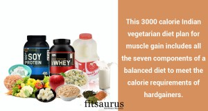 Indian Vegetarian Muscle Building Diet For Hardgainers