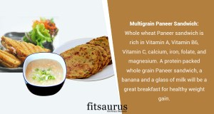 Indian Breakfast Recipes for Weight Gain