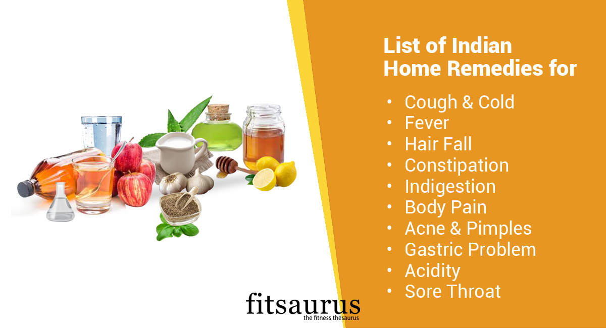 List of Indian Home Remedies