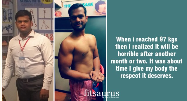 Fitness Story: 25 Year Old's Fat Loss Journey is a Result of Evading Obesity Just in Time