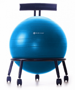 yoga ball chair reviews design museum copenhagen the best top exercise seats gaiam custom fit