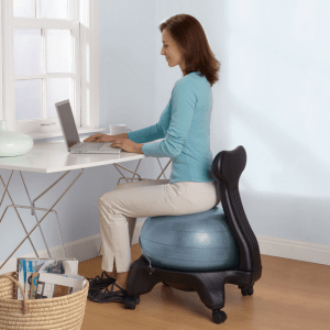 ergonomic chair exercise ball white desk with arms fitseats c get fit while you sit sitting ergonomically a balance