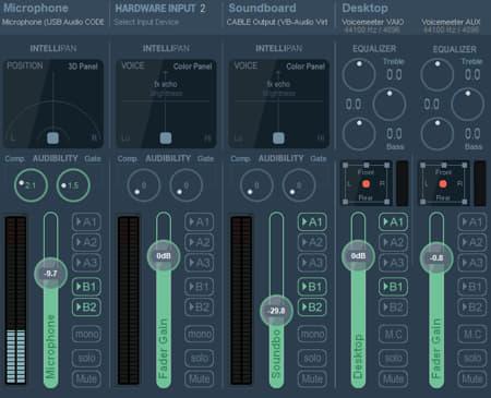 VoiceMeeter And Soundbar