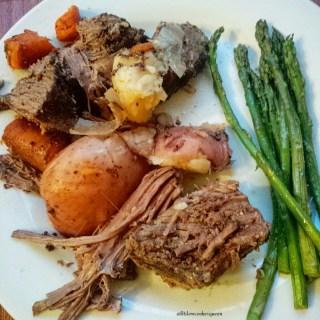 Slow Cooker Balsamic Dijon Pot Roast