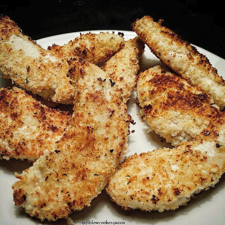 Baked Panko-Ranch Breaded Chicken Tenders
