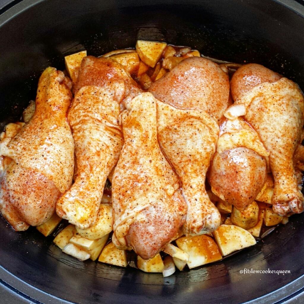 Slow Cooker Killer Bee Honey Chicken