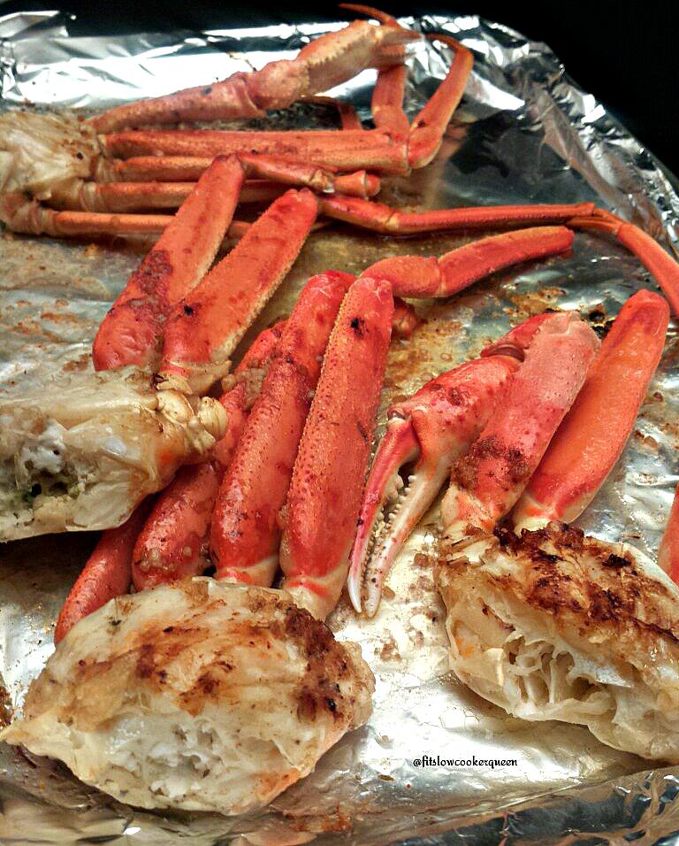 Baked Crab Legs Fit Slow Cooker Queen