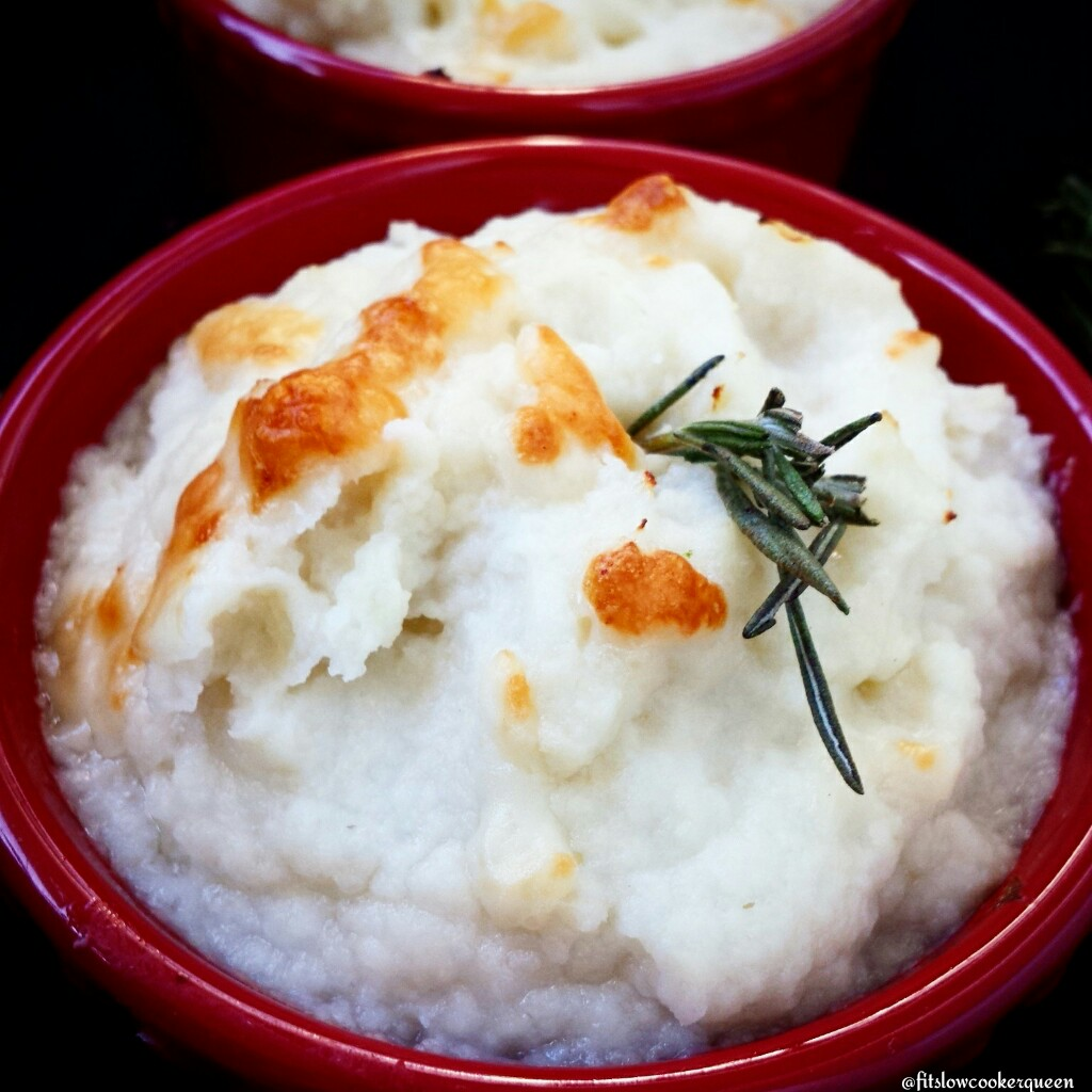 Mashed Cauliflower w/Parmesan Cheese