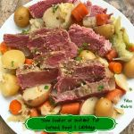 Known as the traditional or classic Irish dish for St. Patrick's Day, this slow cooker or pressure cooker version of corned beef and cabbage is super easy & healthy.