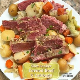 Slow Cooker Corned Beef and Cabbage (Paleo/Whole30)