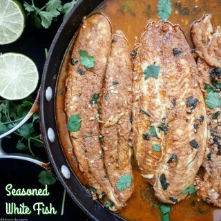 Seasoned White Fish (Paleo,Whole30,Low-Carb)