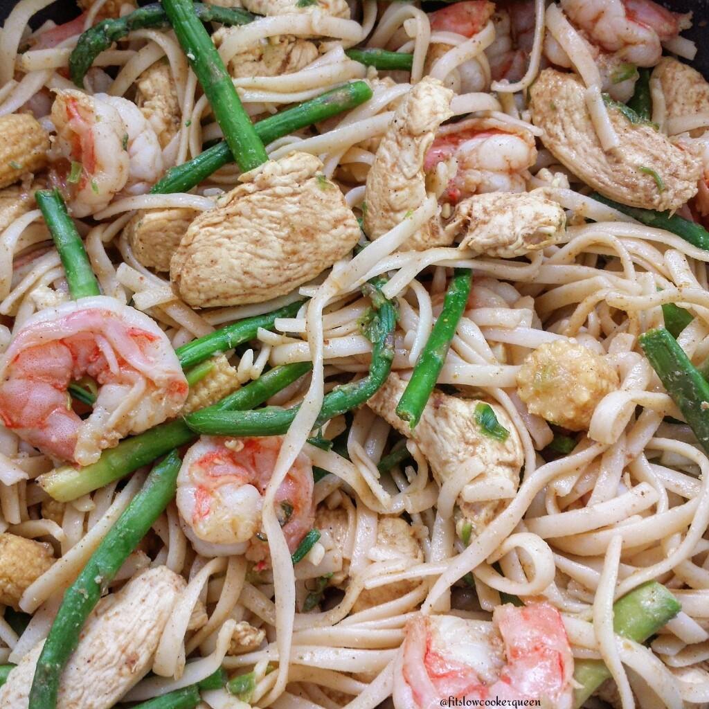 Chicken & Shrimp Stir-Fry