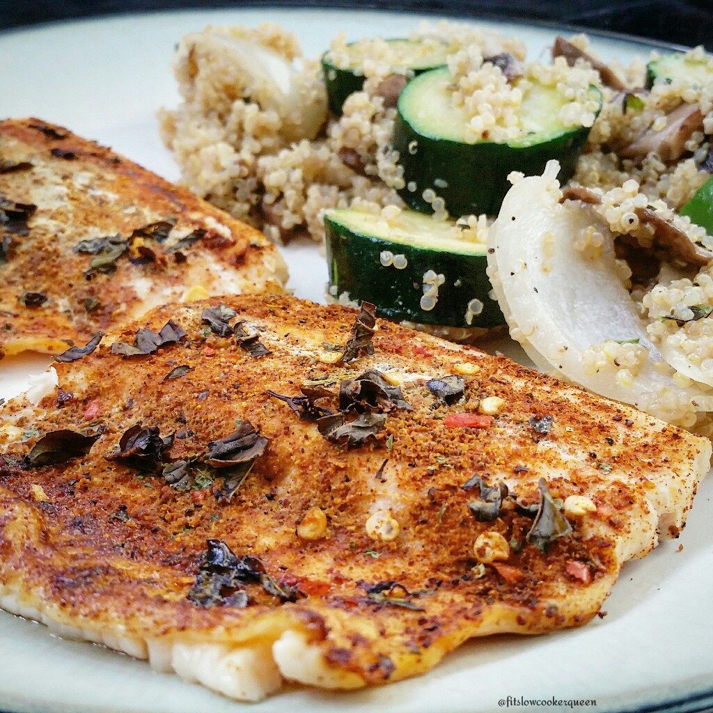 Baked Moroccan Trout