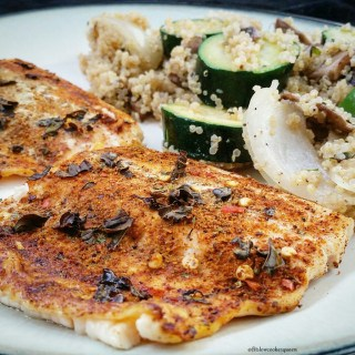 Baked Moroccan Spiced Fish