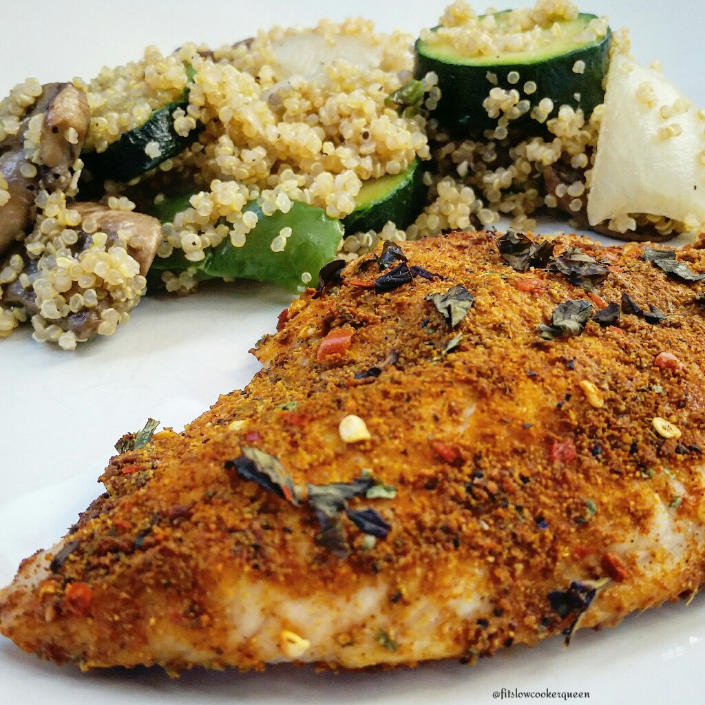 Baked Moroccan Catfish