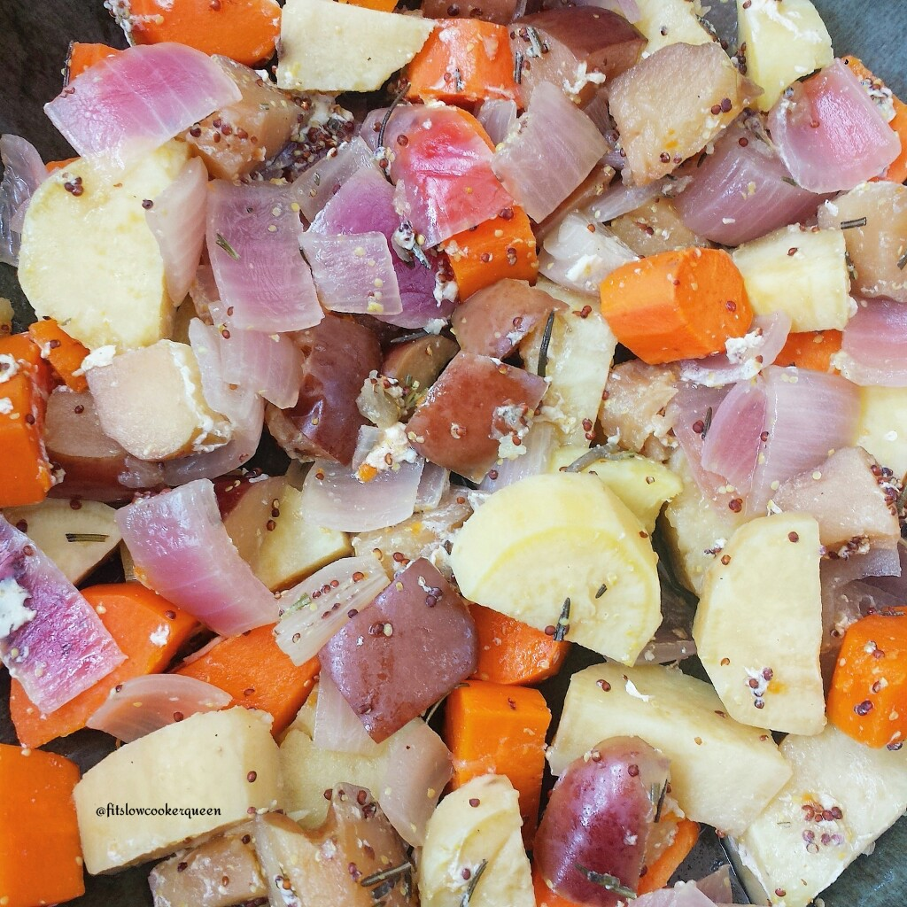 Slow Cooker Rosemary-Dijon Chicken