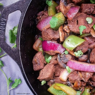 Bison & Vegetables Skillet