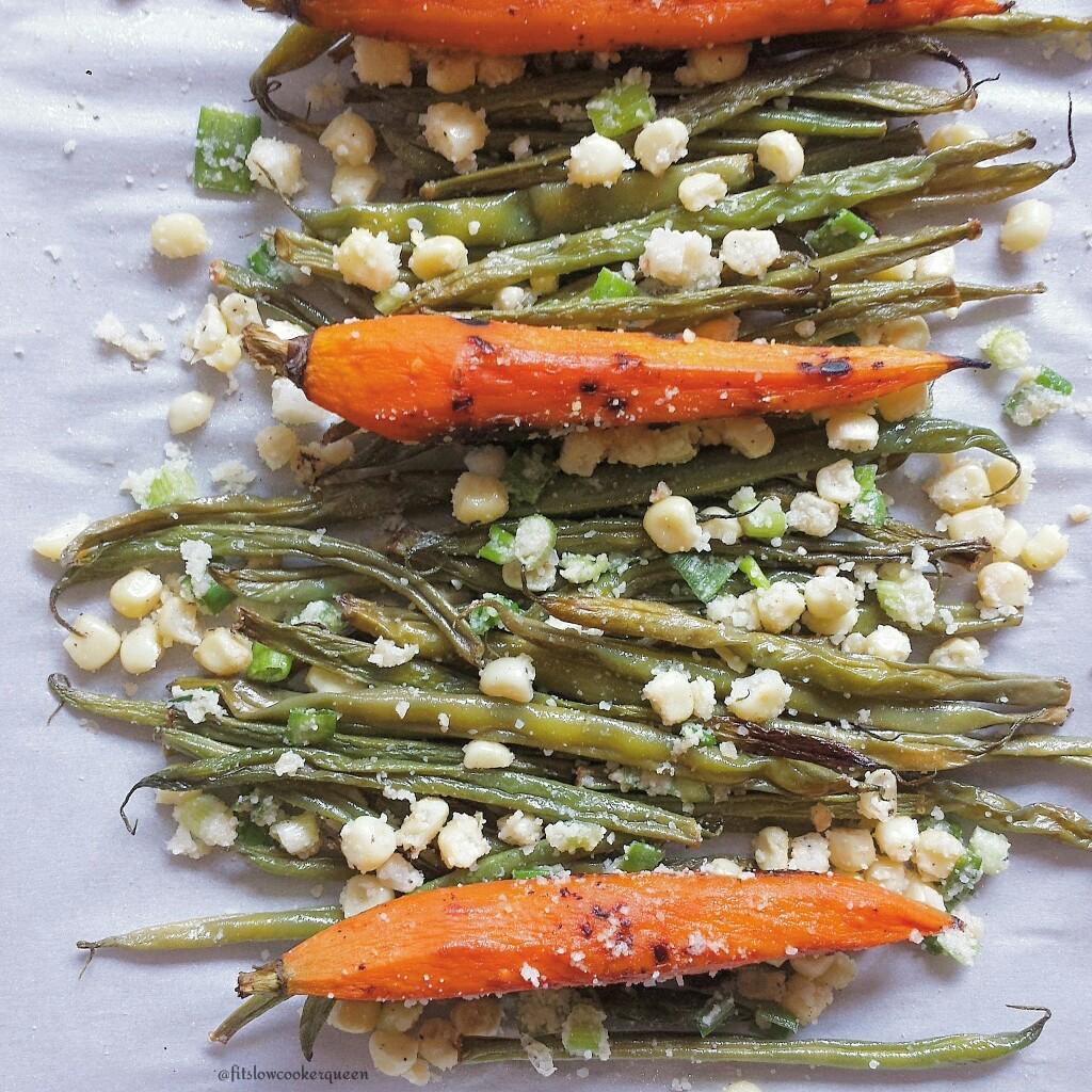 Parmesan Grilled Vegetables
