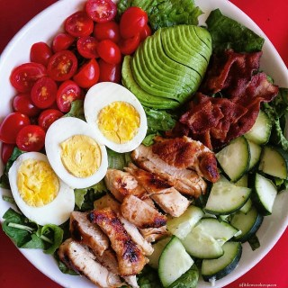 Grilled Chicken Paleo Cobb