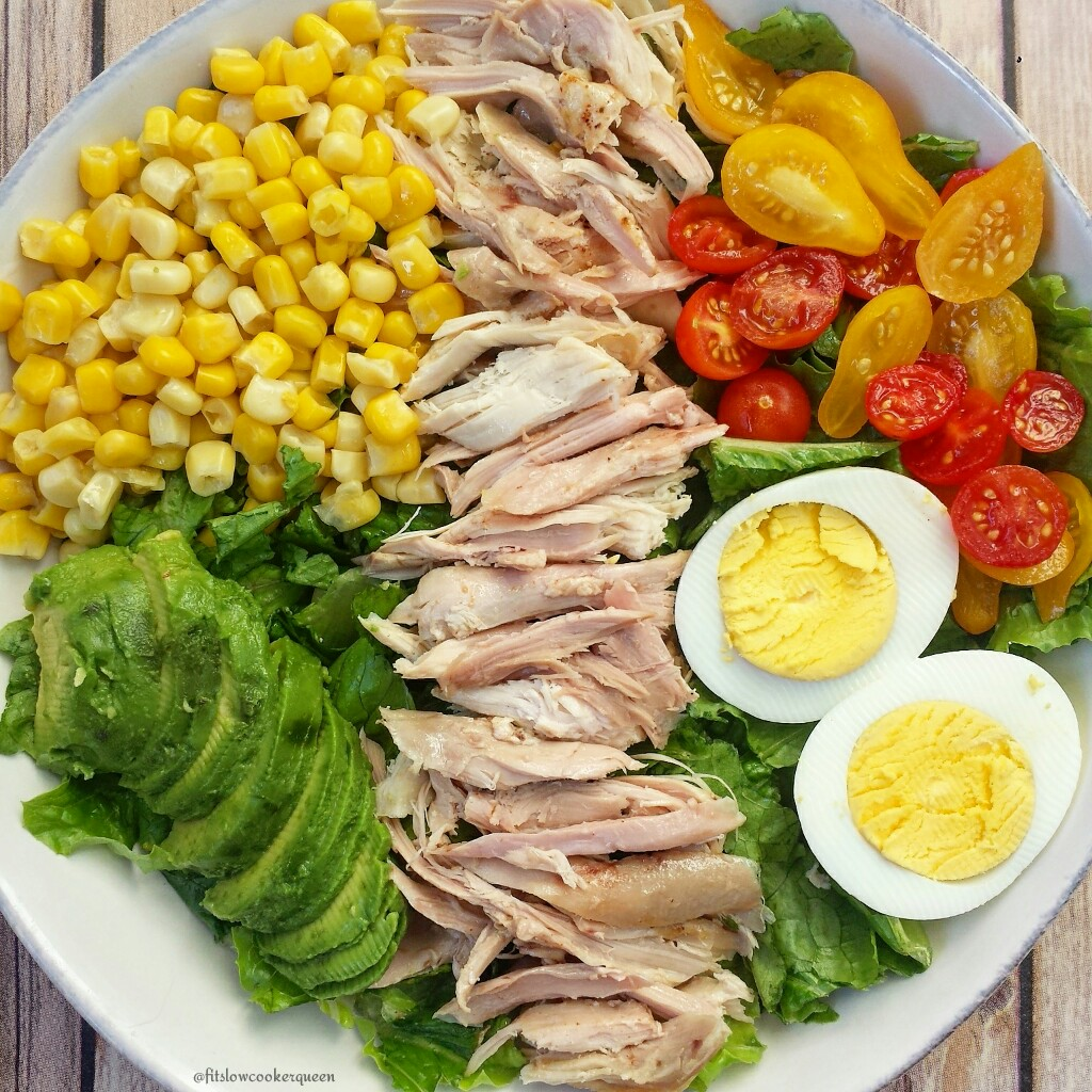 Slow Cooker Honey-BBQ Chicken Salad