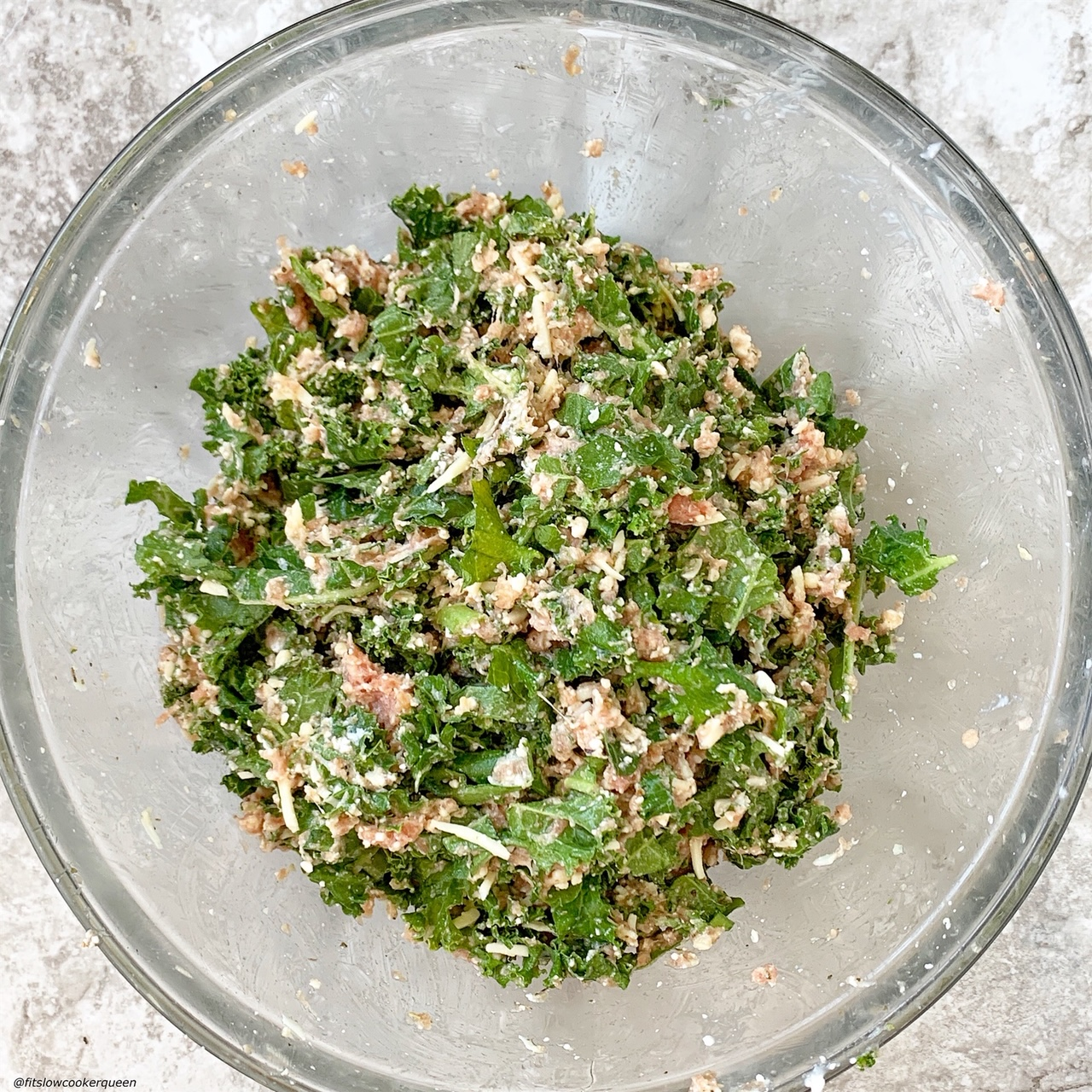 turkey & kale stuffing for slow cooker or instant pot stuffed manicotti
