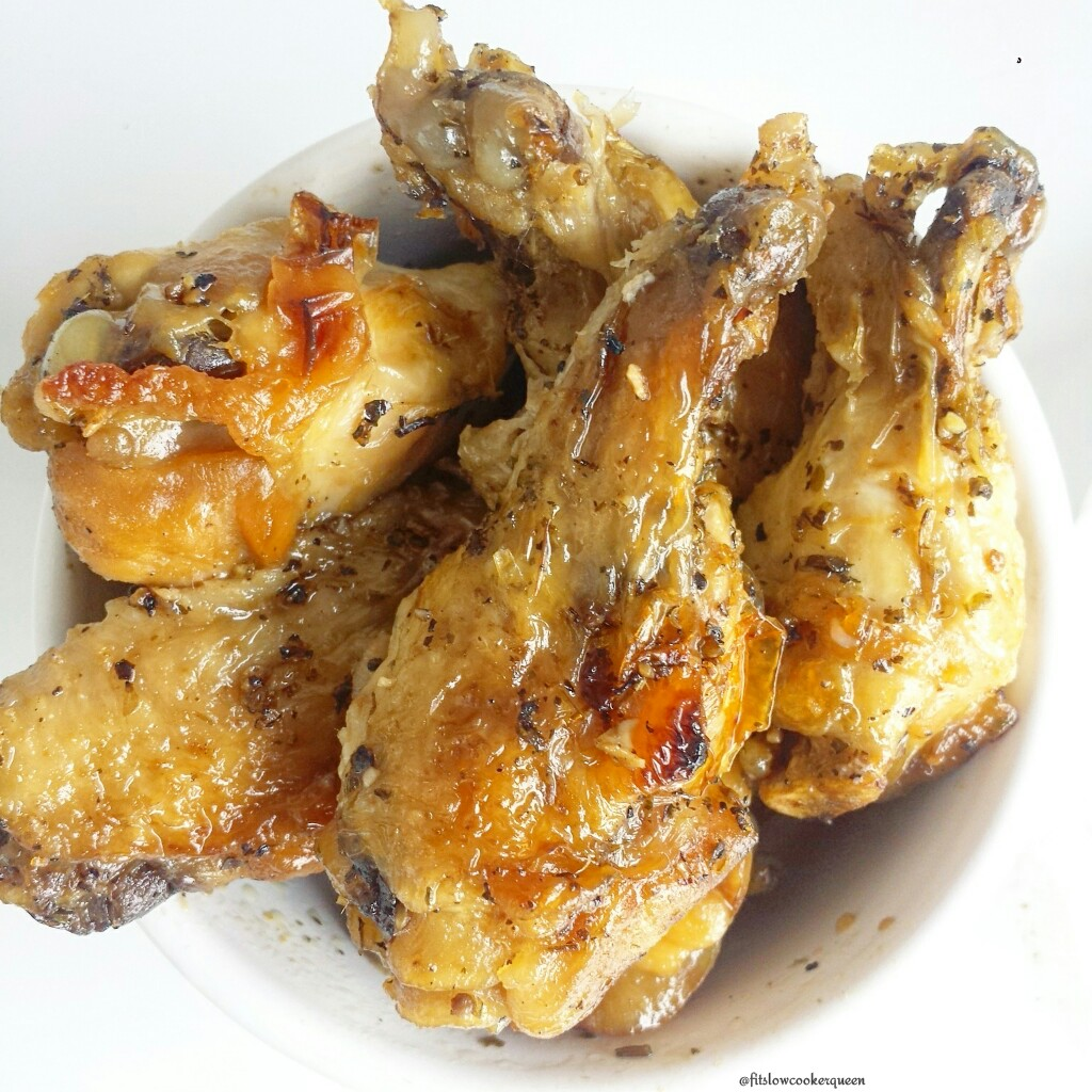 Easy Slow Cooker Wings