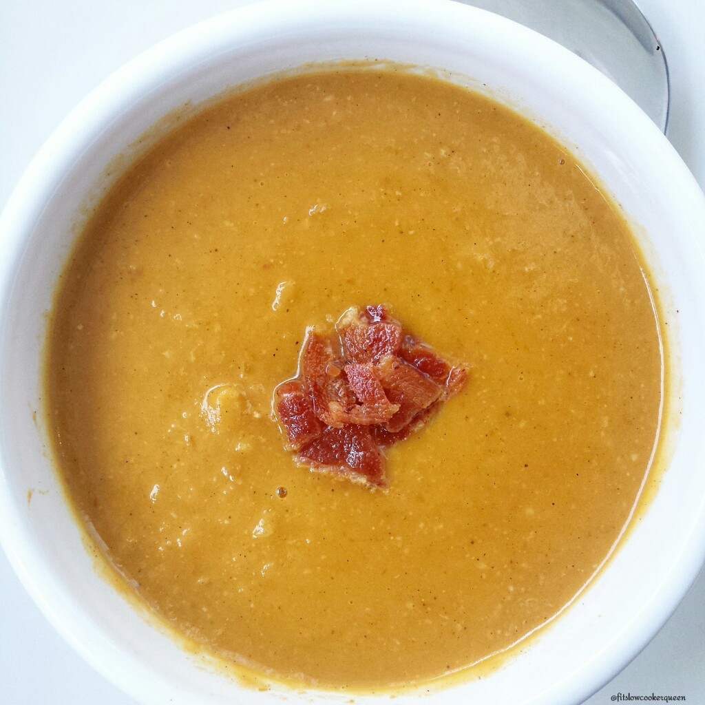 Slow Cooker Paleo Pumpkin Bisque wBacon