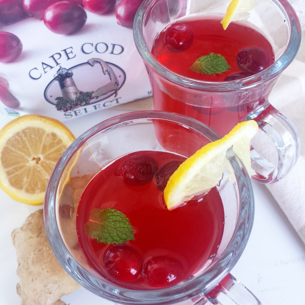 Slow Cooker Homemade Cranberry Ginger Juice
