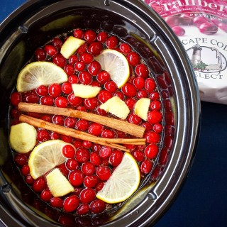 Slow Cooker Homemade Cranberry-Ginger Juice
