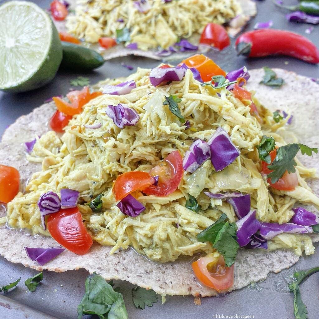 Slow Cooker Thai Chicken Taco