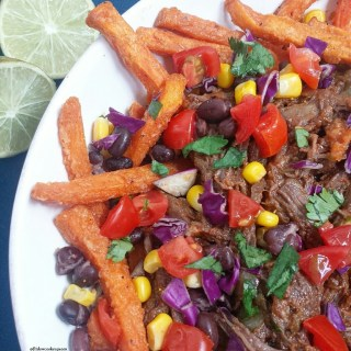 Slow Cooker Carne Asada Fries