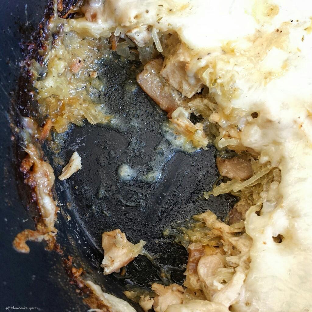 slow cooker low carb turkey tetrazzini 4