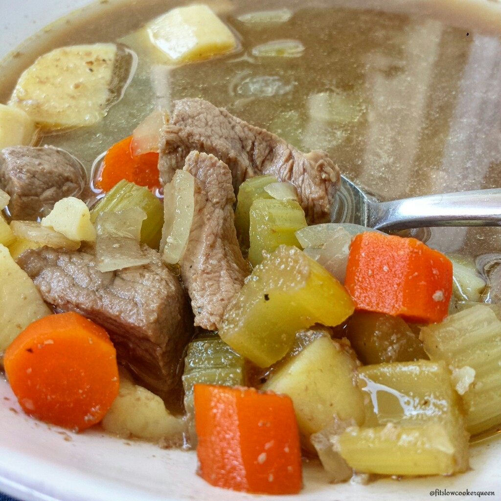 slow cooker pot roast soup 5