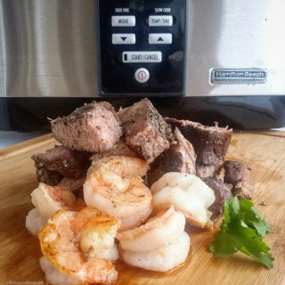 Sous Vide Surf & Turf and GIVEAWAY