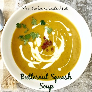 cover pic for Slow Cooker_Instant Pot Butternut Squash Soup (Paleo,Whole30) cover