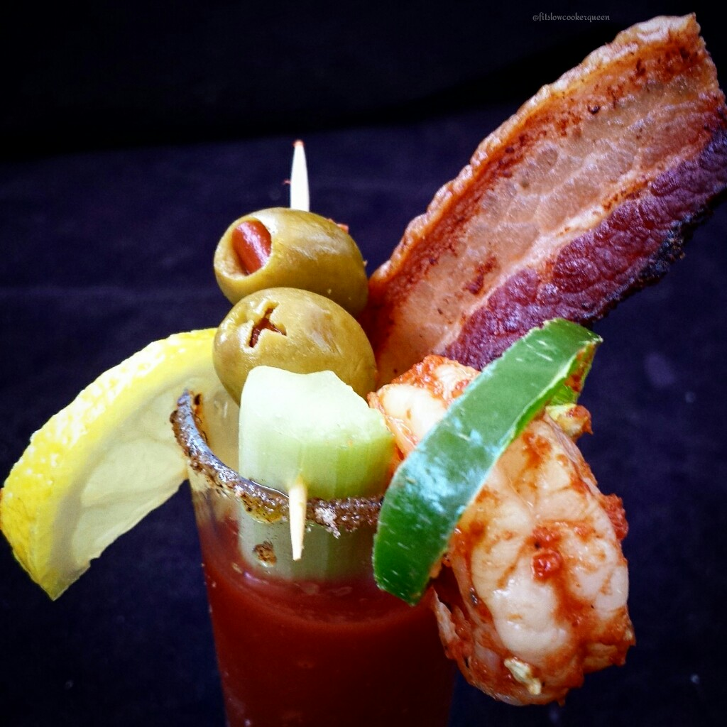 slow cooker spicy bloody mary shooters 3