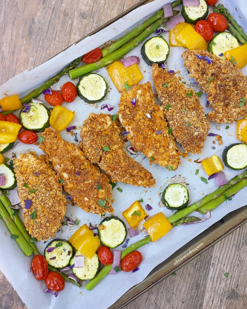 crispy oven baked chicken tenders